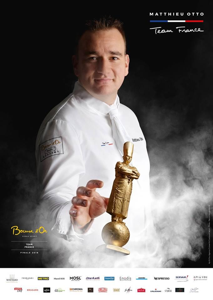 qui va succéder à Matthieu Otto et représenter la France au Bocuse d'or ?