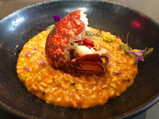 Suggestion risotto au homard ©Sandrine Kauffer-Binz