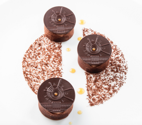 Chocolat miel en légèreté, sous la Monnaie de Paris