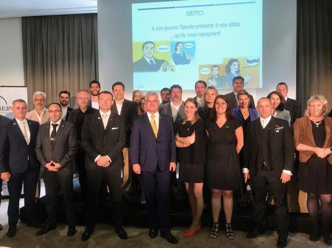 Les membres du bureau, les partenaires et les lauréats des prix ©Sandrine Kauffer-Binz