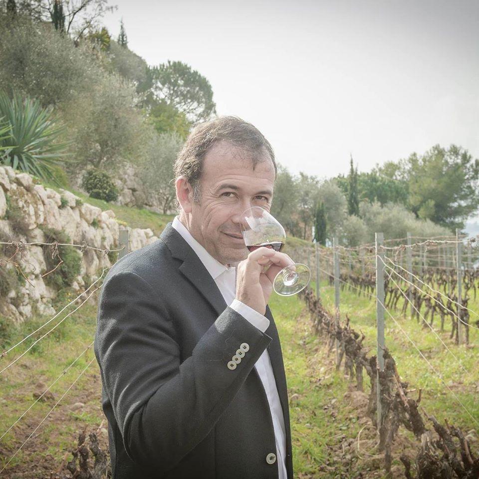 Franck Thomas est Meilleur Sommelier d'Europe et Meilleur Ouvrier de France sommelier en 2000