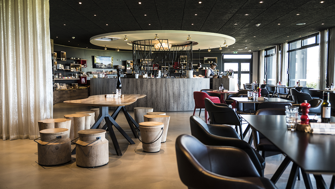 Hotel De La Butte le comptoir de la butte, une restauration bistronomique