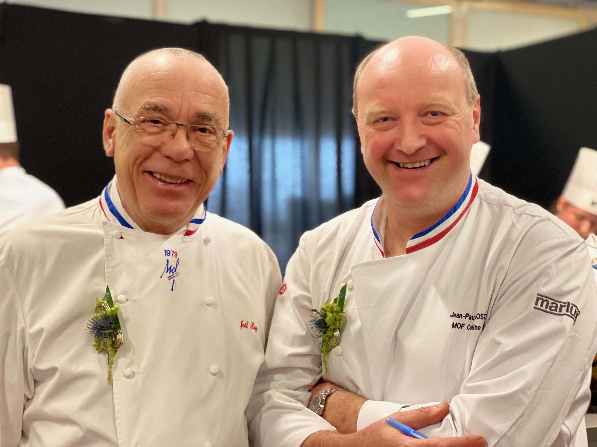 Joel Roy et Jean-Paul Bostoen dans le jury technique ©Sandrine Kauffer-Binz