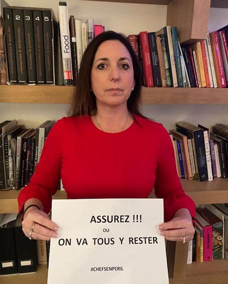 Stephanie Leclerre co-fondatrice de Resto Ensemble, archive mars 2020