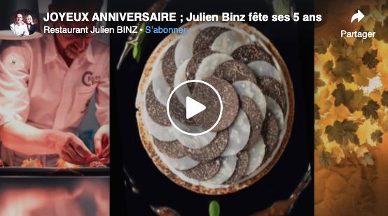 Julien Binz fête ses 5 ans