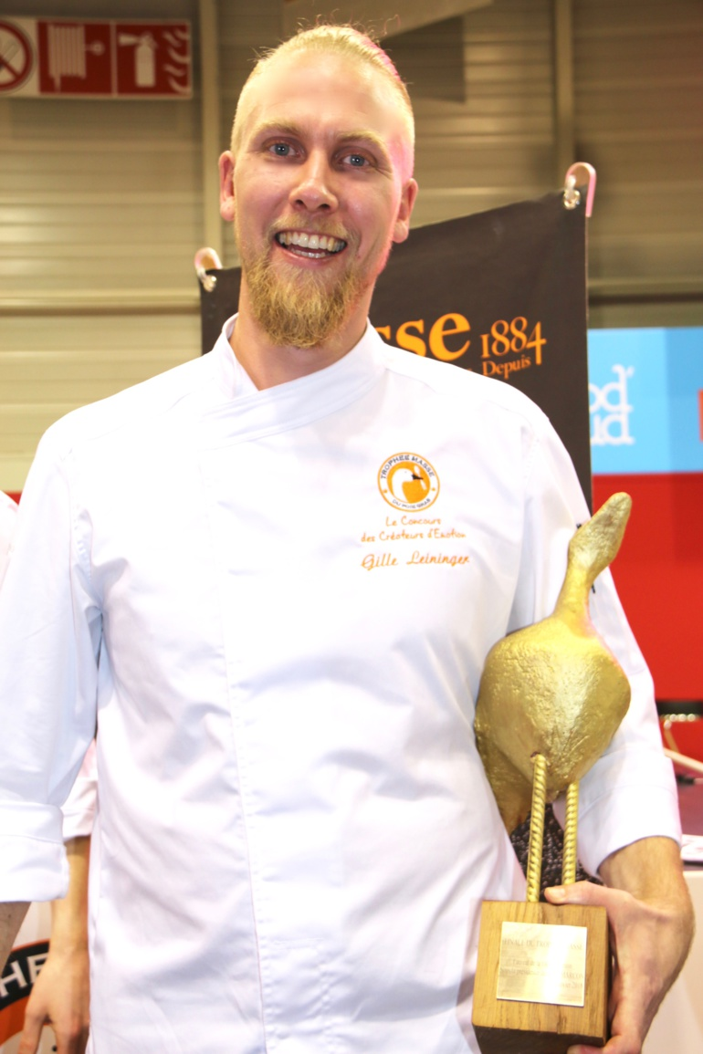 Gilles Leininger, surnommé «le Viking», remporte le trophée Masse 2018 ©SandrineKauffer