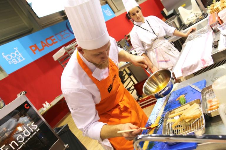 Gilles Leininger sur le salon Food In Sud à Marseille ©SandrineKauffer