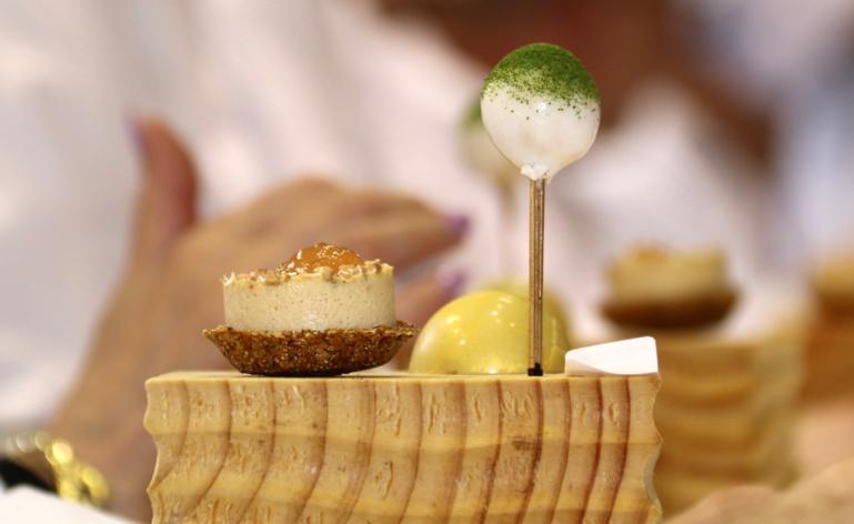 Tartelette, sucette et bonbon de Gilles Leininger ©SandrineKauffer
