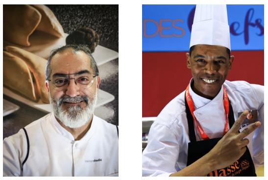 Maroun Chedid et Mohamed Ben Hammidi