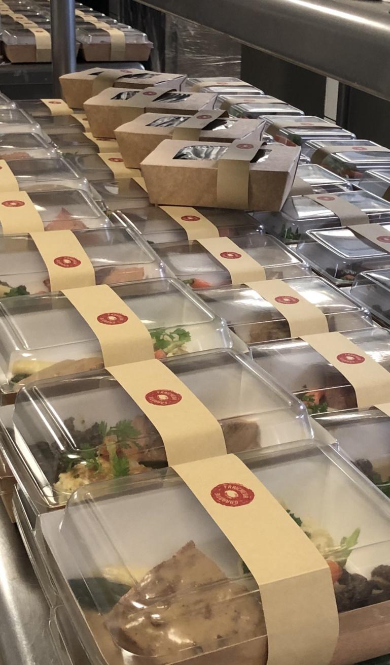 160 portions individuelles pour le personnel soignant militaire à Mulhouse