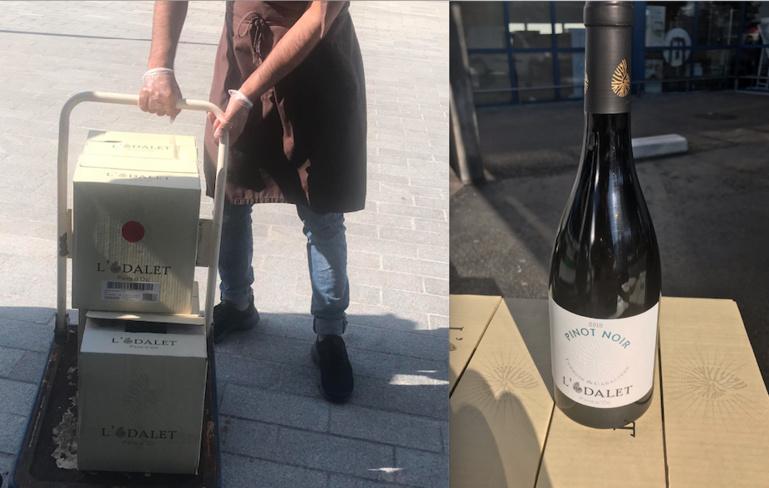 le vin est offert par la Maison Castel, partenaire du Gault & Millau