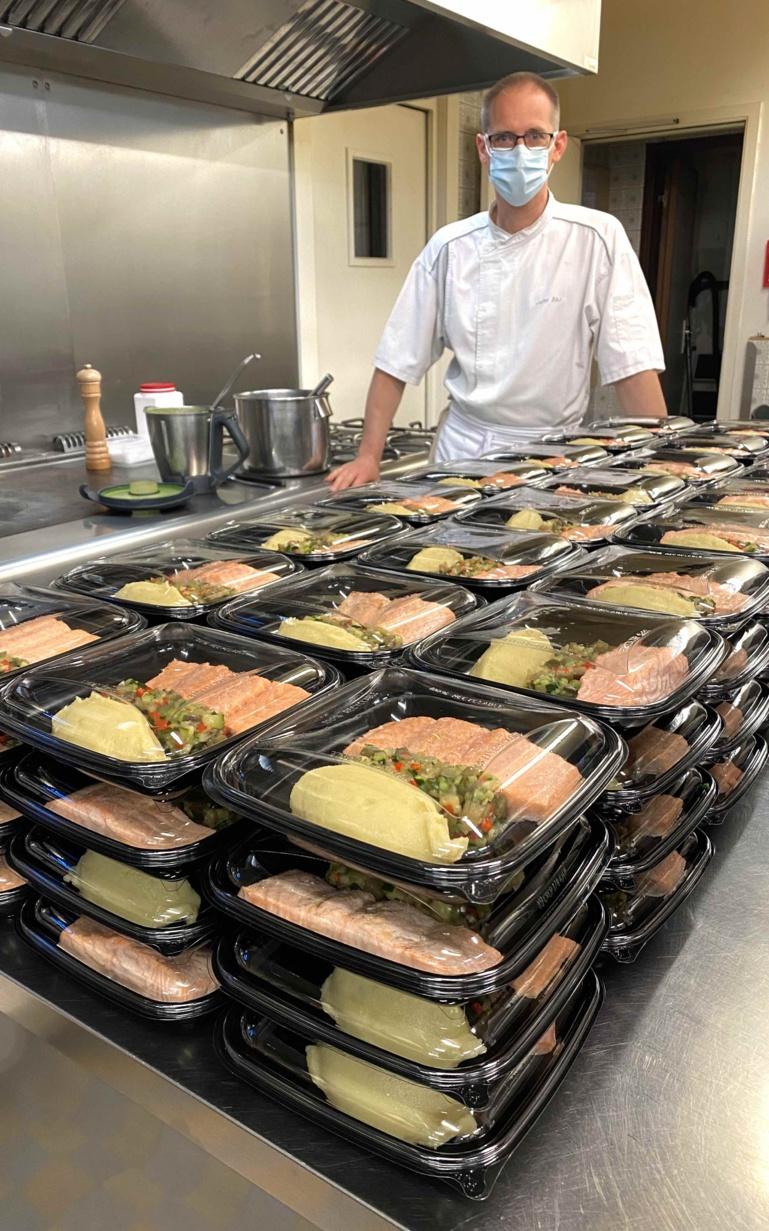 150 repas livrés le 7 mai ©Sandrine Kauffer-Binz