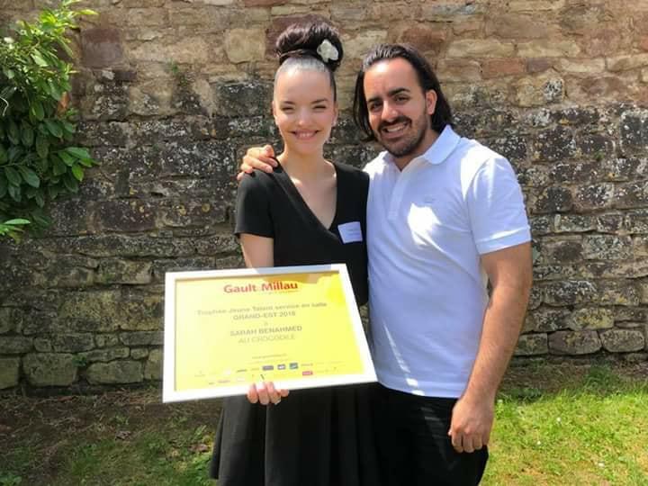Sarah Benahmed du trophée Jeune Talent Service en Salle Grand-Est 2018 ©Sandrine Kauffer-Binz