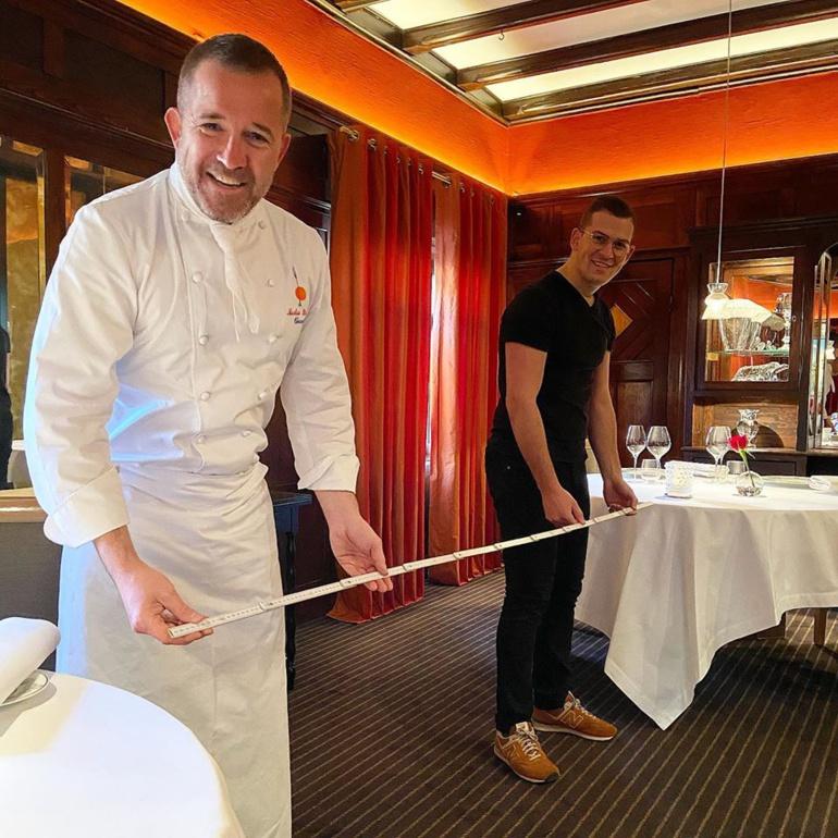 La Fourchette des Ducs ouvre le 3 juin avec un espacement de 2 mètres entre les tables