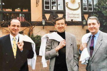 Marc Haeberlin, Antoine Westermann et Émile Jung, soit neuf étoiles alsaciennes au Michelin