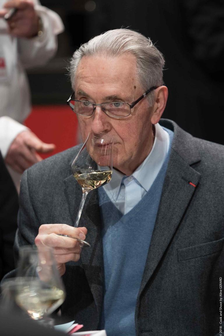 Émile Jung, président-fondateur de l'Association des Sommeliers d'Alsace (ASA).
