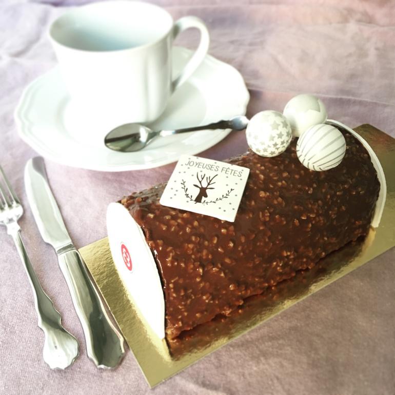 Elisabeth Biscarra - bûche chocolat