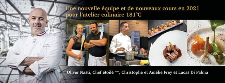 L'atelier Culinaire 181°C va devenir Art Cooking