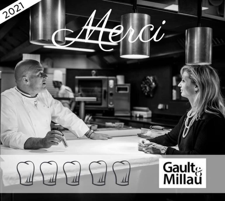 Olivier Nasti est le seul chef en France à décrocher 5 Toques au GAULT&MILLAU 2021