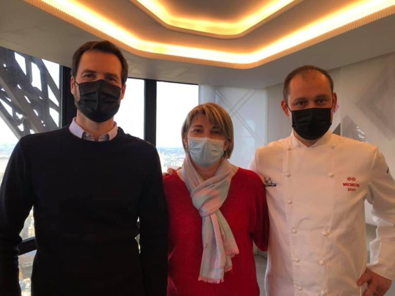 Christelle et Cedric Deckert à La Merise décrochent 2 étoiles au guide Michelin