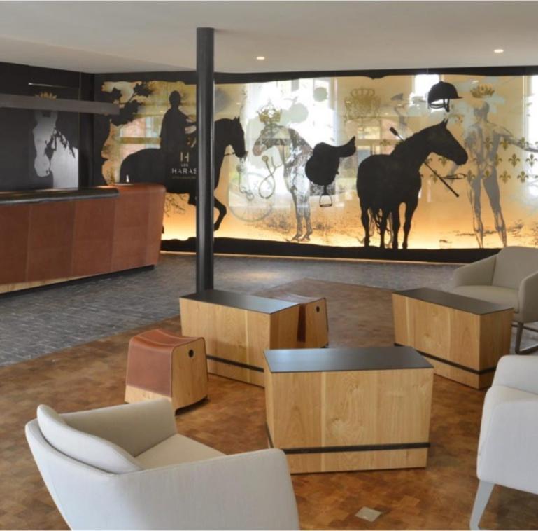 Réception de l'hôtel - Strasbourg, l'hôtel les Haras ré-ouvre avec un nouveau Spa