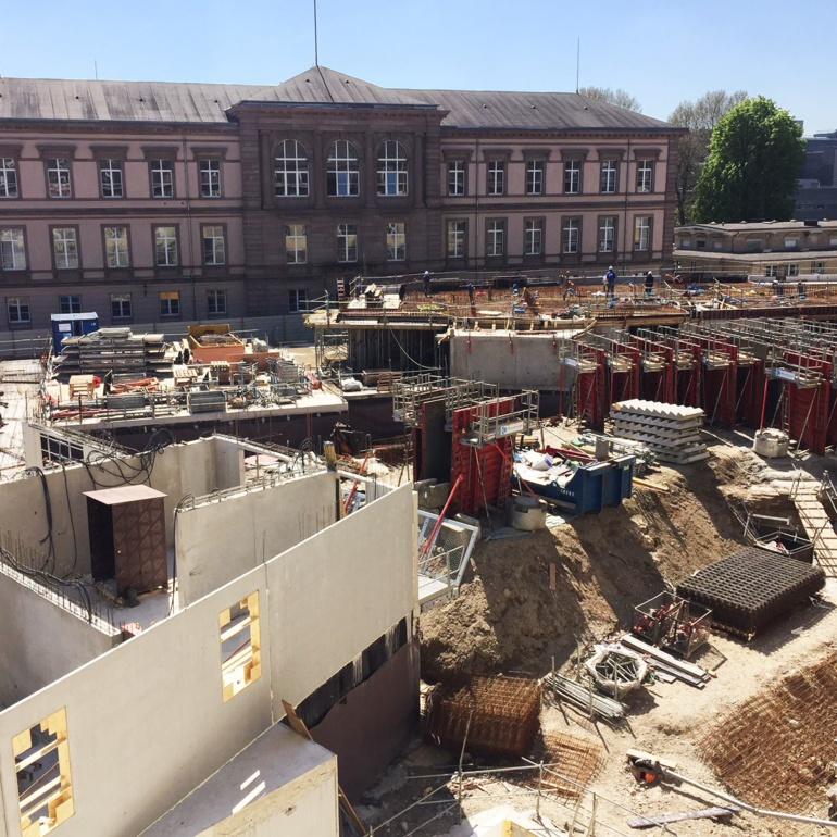 Les travaux du second bâtiment ont commencé en 2018