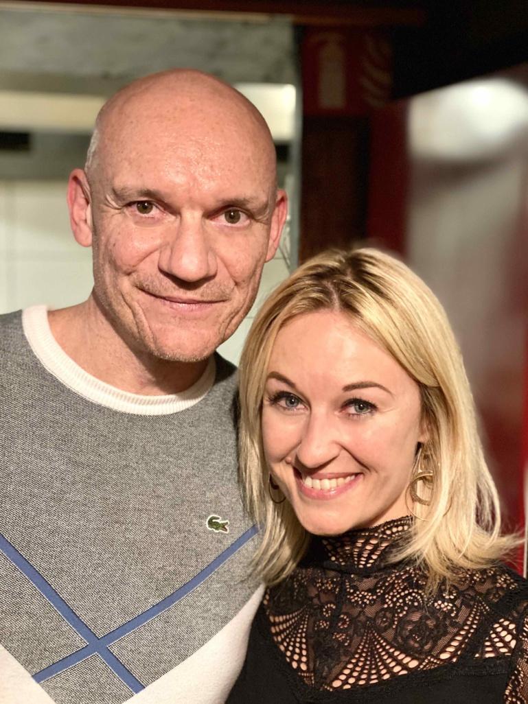 Gaetan Roussel et Sandrine Kauffer