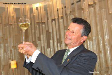 Serge Dubs récompensé du 1er prix Gérard Basset pour l'ensemble de sa carrière ©Sandrine Kauffer-Binz