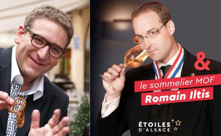 Dan Leclaire et Romain Iltis -MasterCook des Etoiles d'Alsace