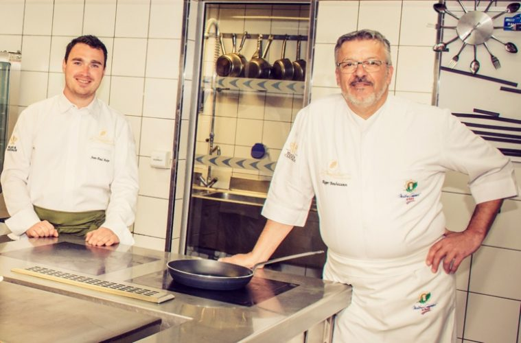 Jean-Paul Acker succède à Roger Bouhassoun au poste de chef de cuisine à La Chenaudière @Tiphaine Aeschelmann