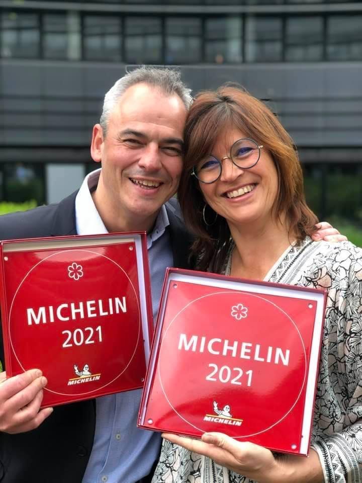 Yannick Germain et Mariella Kieny, heureux de se retrouver