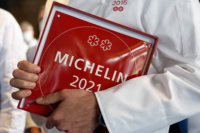 Remise des plaques Michelin 2021