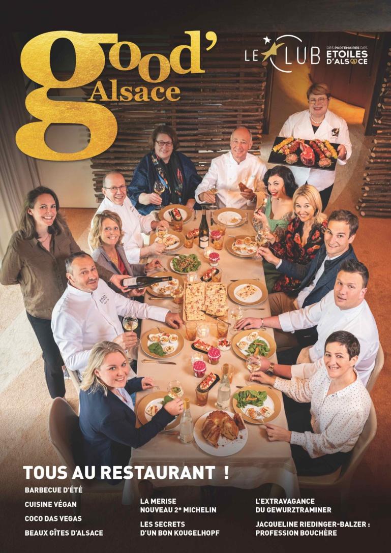 La Une du magazine Good'Alsace n°9