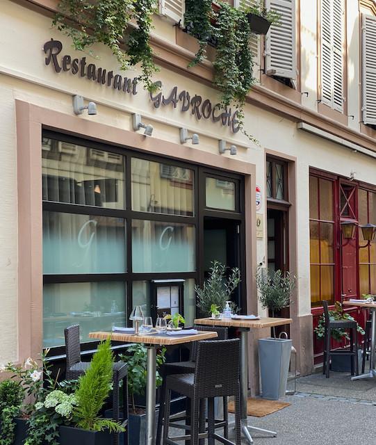 "la terrasse ""covid"" du gavroche, autorisée par la mairie de Strasbourg ©Louise Cambresy"