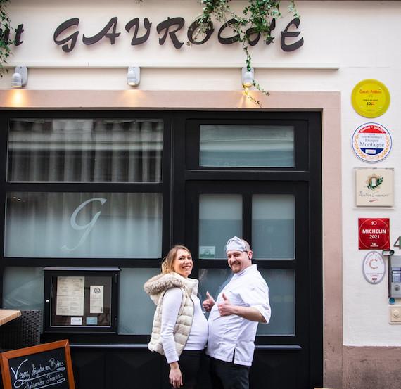 Lucile et Alexy Fuchs au Gavroche à Strasbourg ©Louise Cambresy