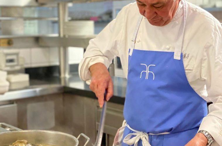 Le chef Marc Haeberlin, Auberge de l'Ill