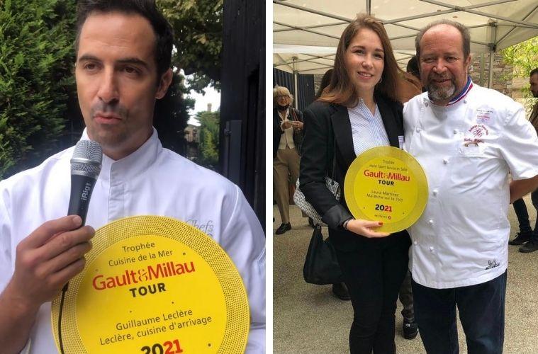 Guillaume Leclère, Laura Martinez et Gilles Goujon